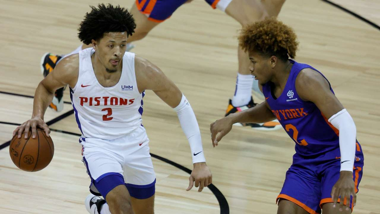Cade Cunningham finished with 24 points in the Pistons win over the Knicks