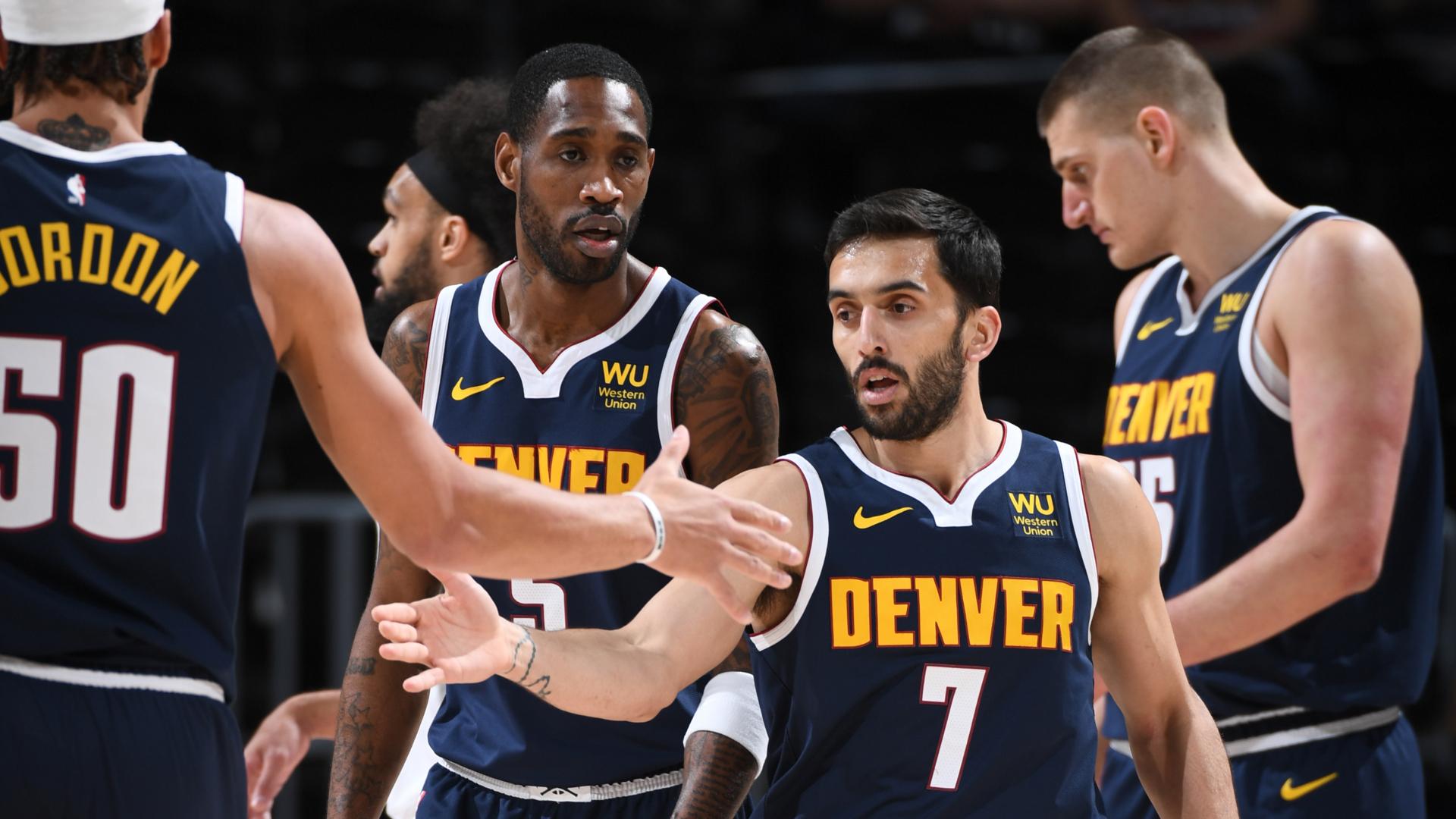 En qué quinteto le va mejor a Facundo Campazzo en Denver Nuggets?   NBA.com  España   El sitio oficial de la NBA