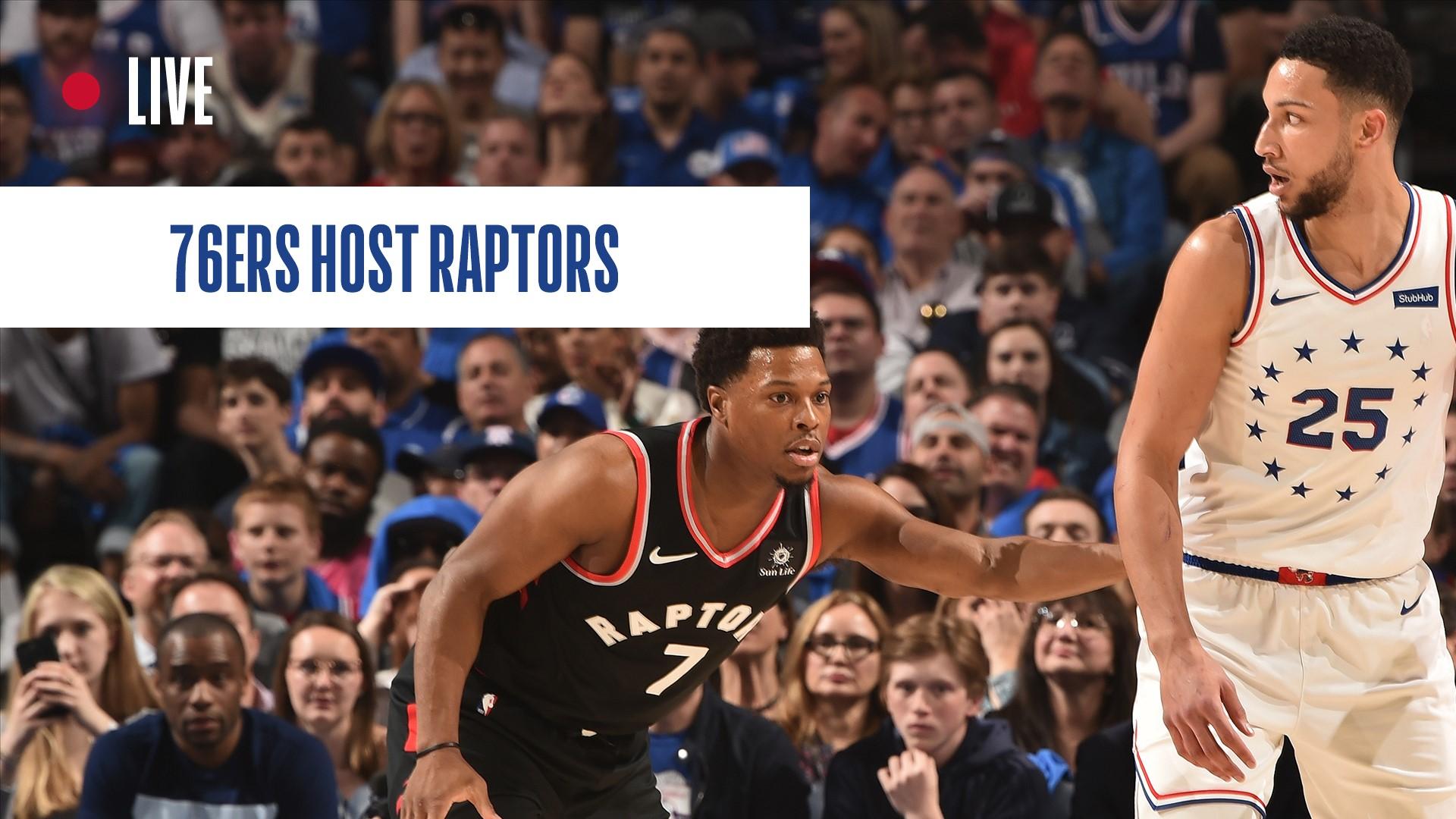 Toronto Raptors vs. Philadelphia 76ers: Live score updates, news, highlights and stats