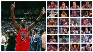 Ranking all of the teams that Jordan played in the postseason.
