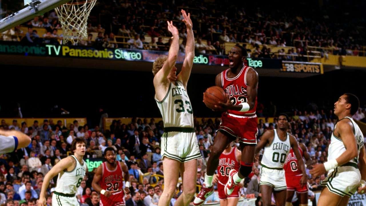 Chicago Bulls vs. Boston Celtics in 1986