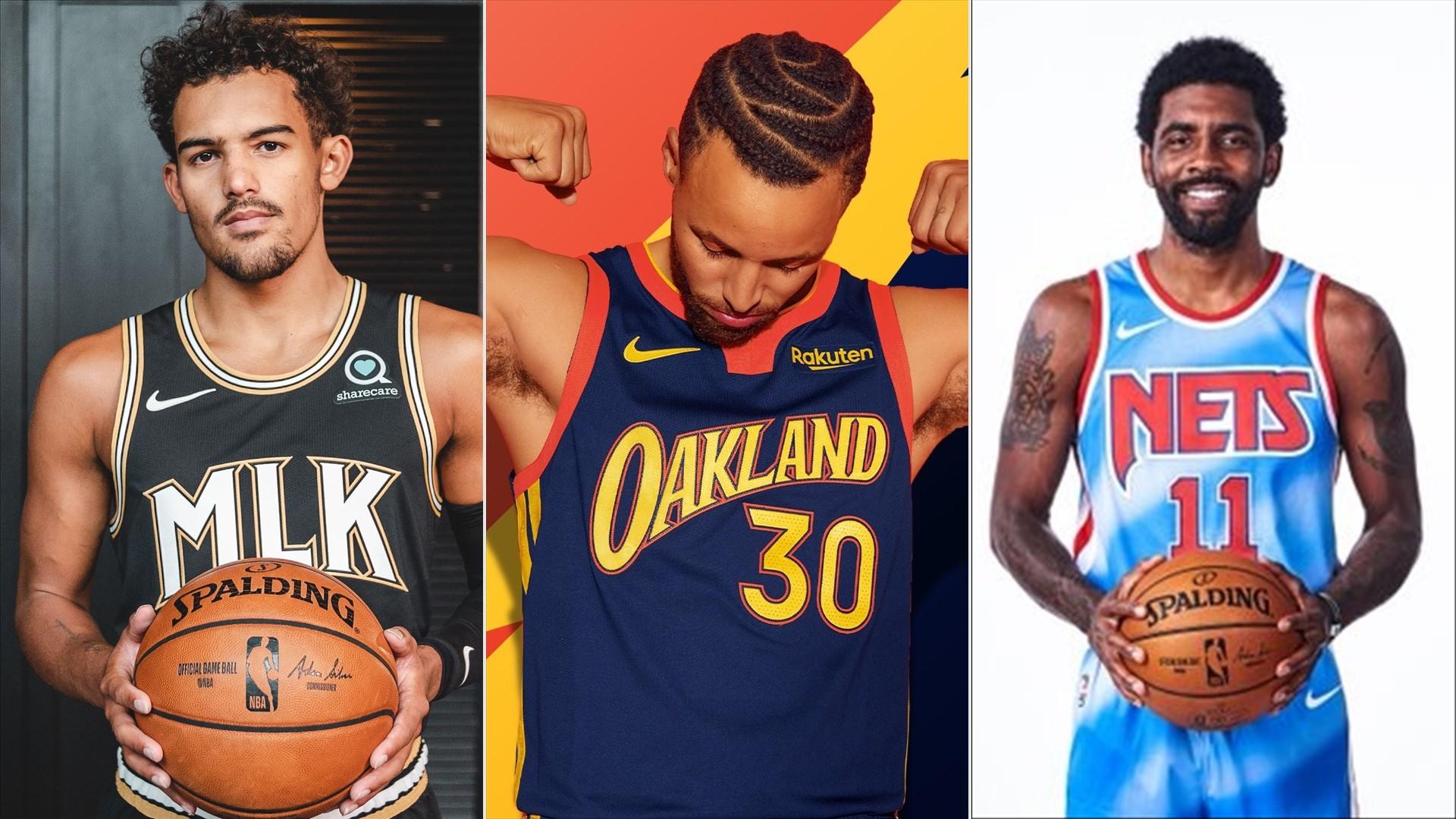 tema miseria Guijarro  Todas las nuevas camisetas presentadas por los equipos NBA para la  temporada 2020-2021   NBA.com Argentina   El sitio oficial de la NBA
