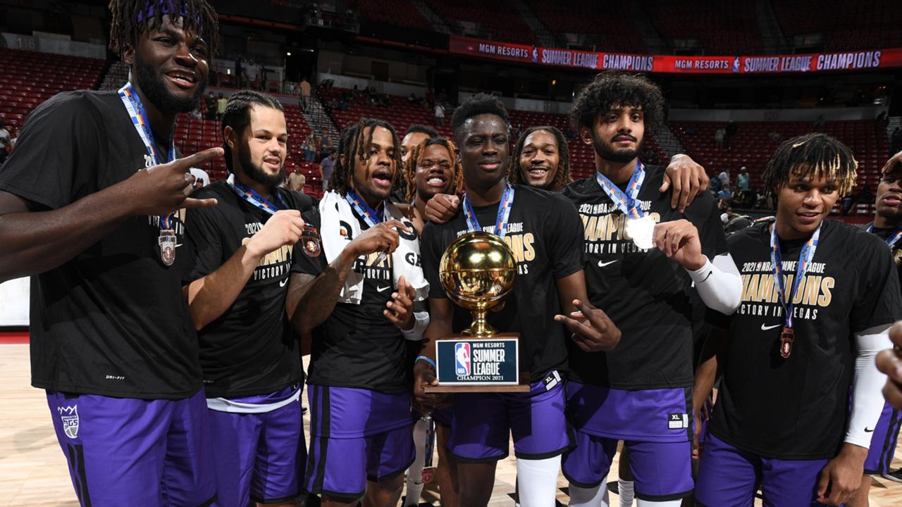 Sacramento Kings win 2021 Summer League