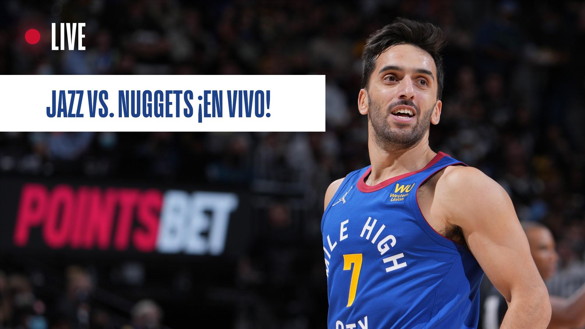 Utah Jazz vs. Denver Nuggets en vivo: jugadas, estadísticas, highlights y cómo ver a Facundo Campazzo   NBA.com Argentina   El sitio oficial de la NBA