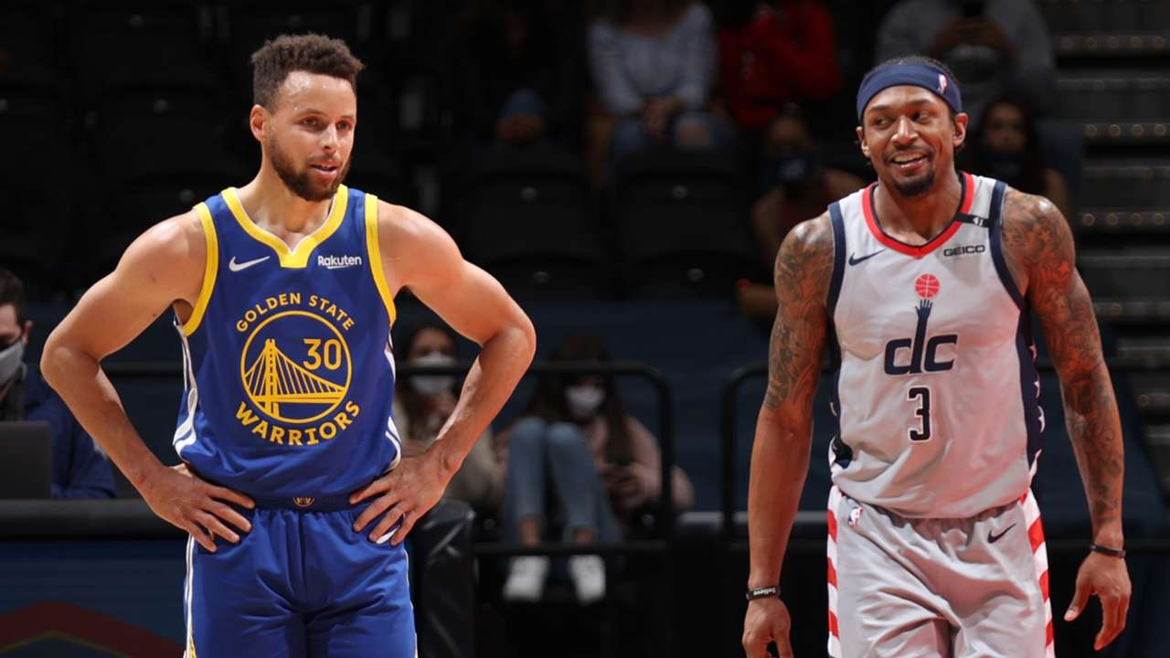 Stephen Curry and Bradley Beal