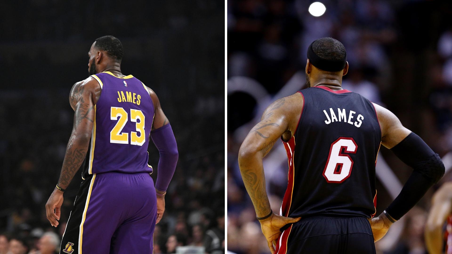 LeBron James cambiará su número 23 por