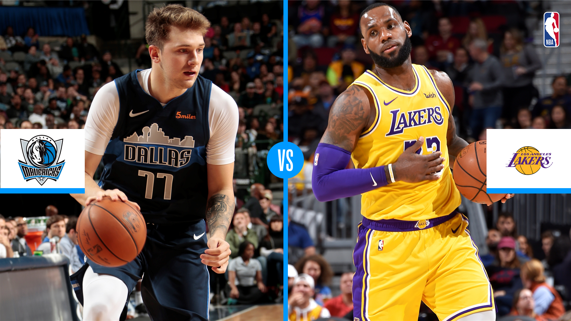 Dallas Mavericks Vs Los Angeles Lakers Game Preview Live