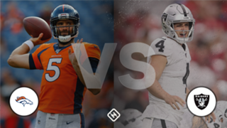 Broncos vs. Raiders GFX