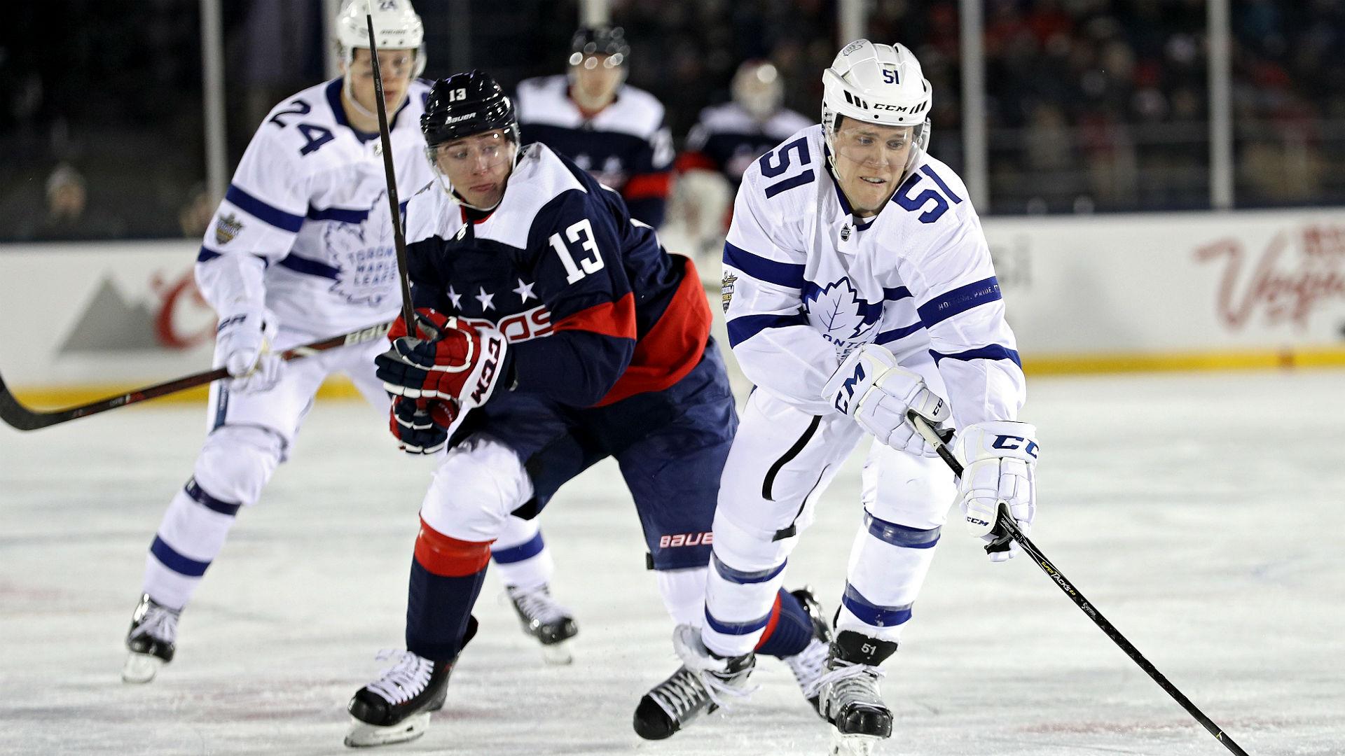 Stadium Series 2018 Internet Pokes Fun At Maple Leafs All White Uniforms Sporting News Canada