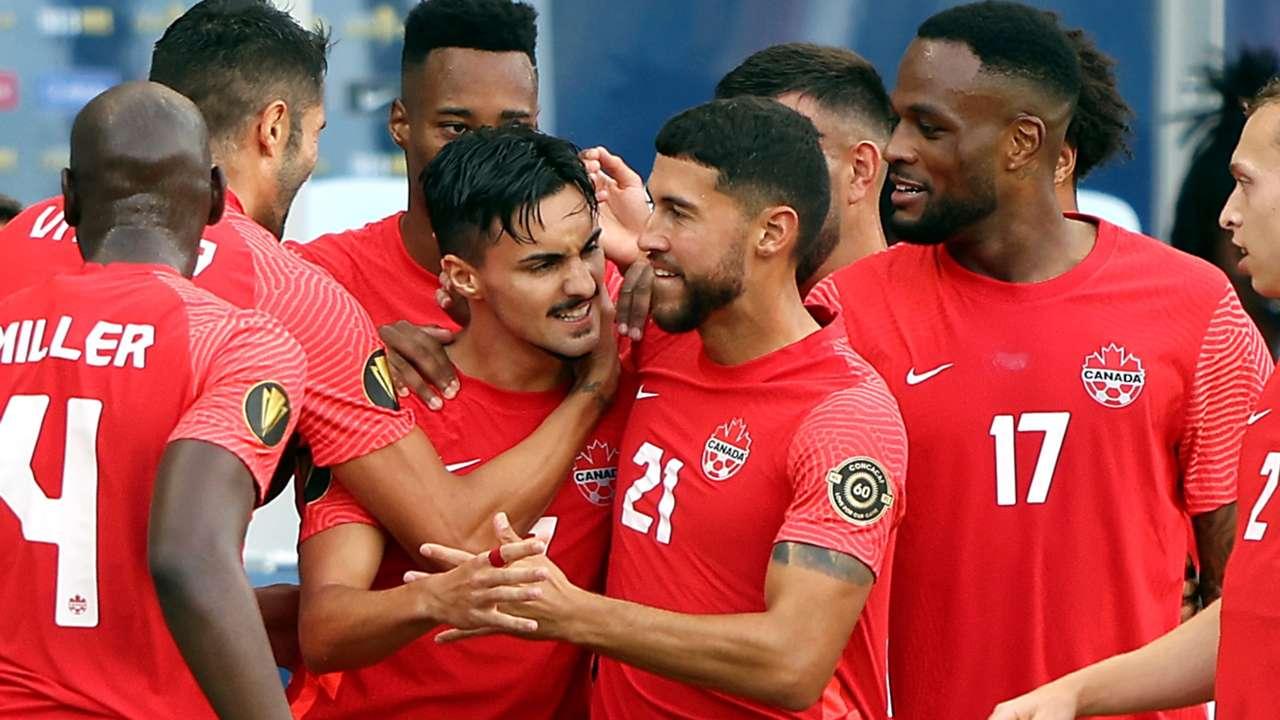 Canada men's national soccer team - July 2021