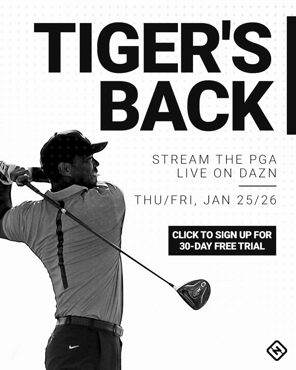 Tiger Woods graphic