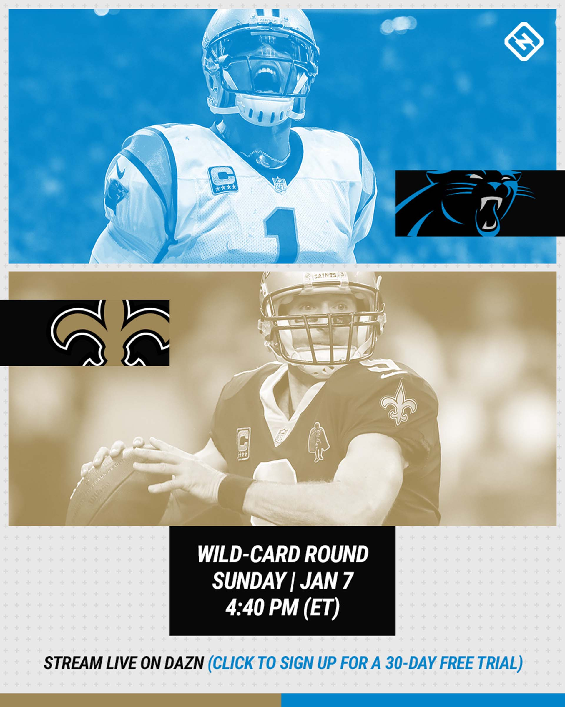 Panthers-Saints