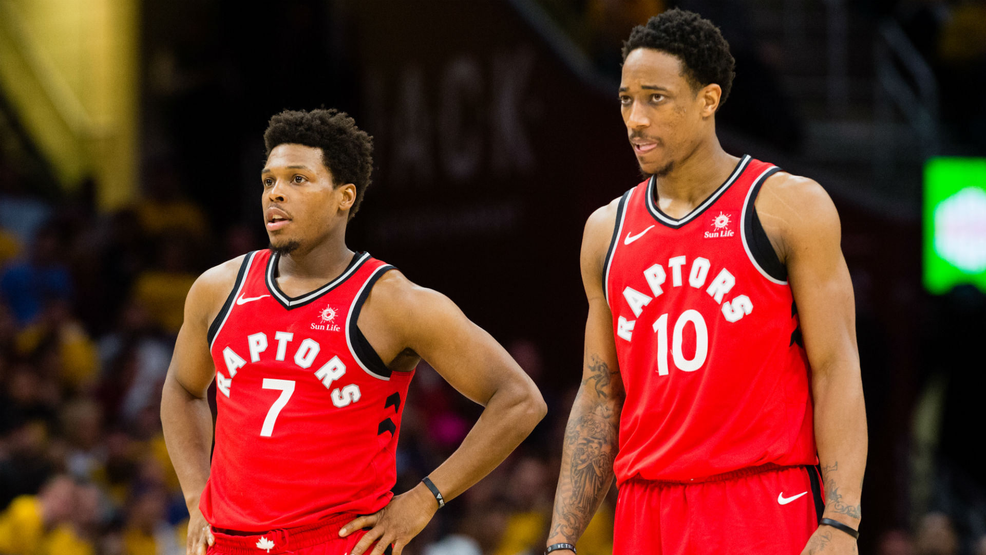 Kyle Lowry and DeMar DeRozan reportedly worked through friction in ...