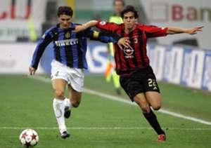Kaka Zanetti Milan Inter Serie A