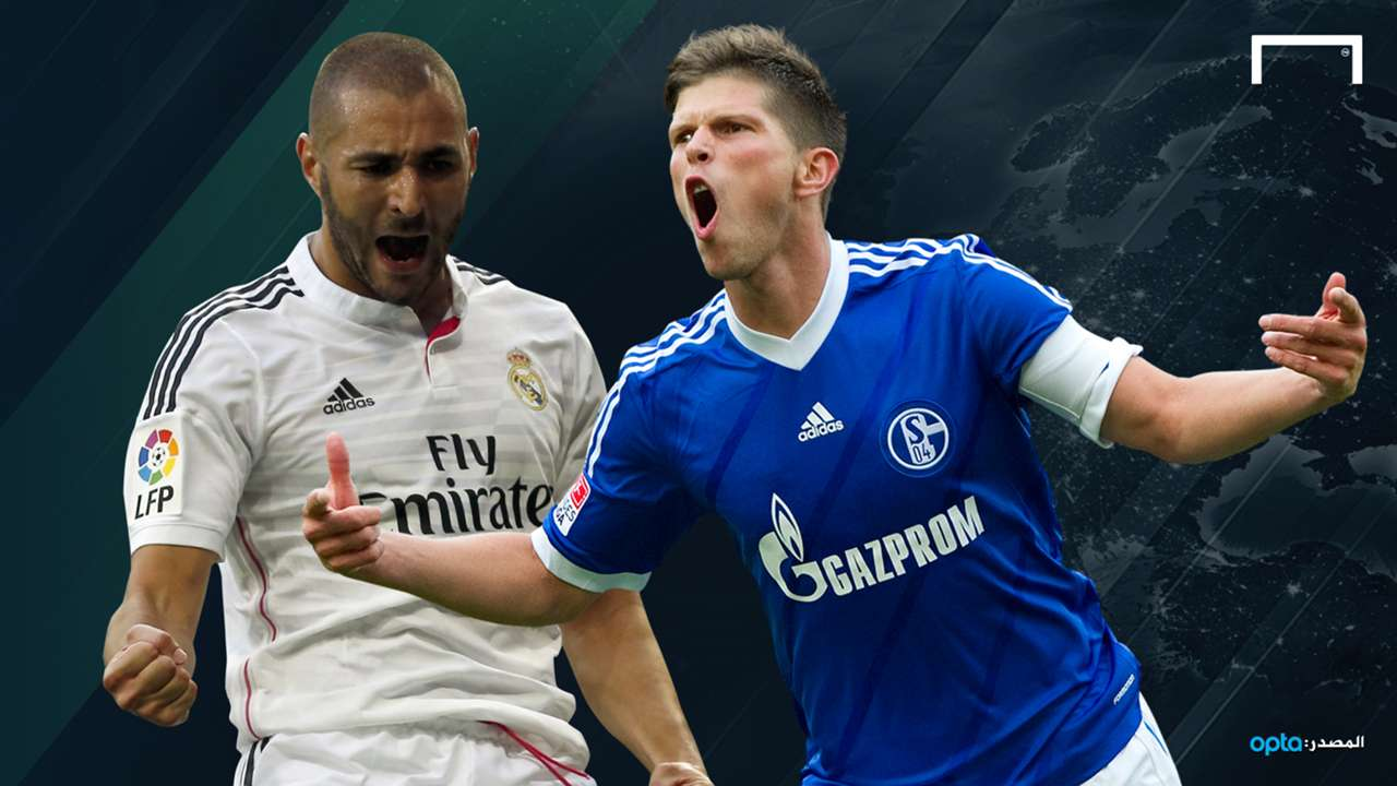 GFX Huntelaar VS Benzema Champions league 20142015