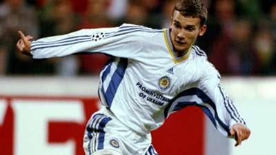 Andriy Shevchenko Dynamo Kiev Bayern Munich 1998-99 UEFA Champions League Olympiastadion 21041999