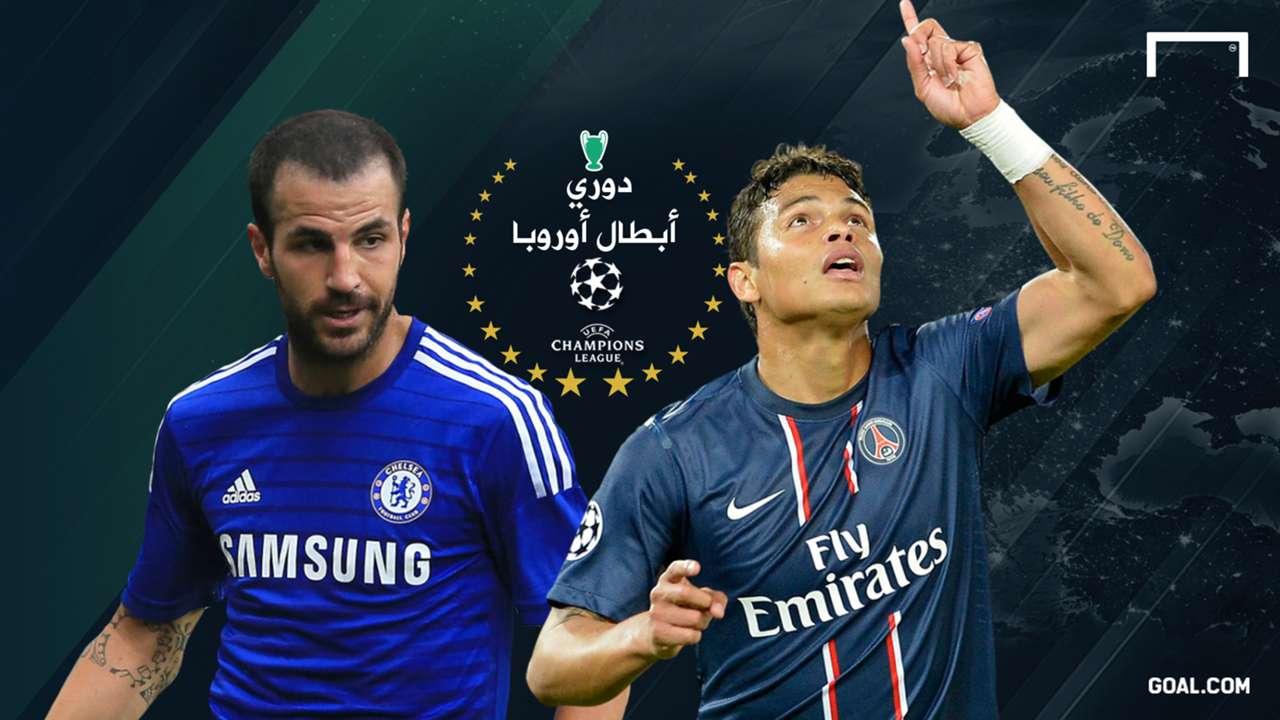 GFX Thiago Silva Cesc Fabregas | Champions league 2014 2015_Round 16th | Paris Saint-Germain Chelsea