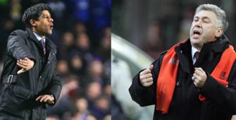 Carlo Ancelotti - Frank Rijkaard