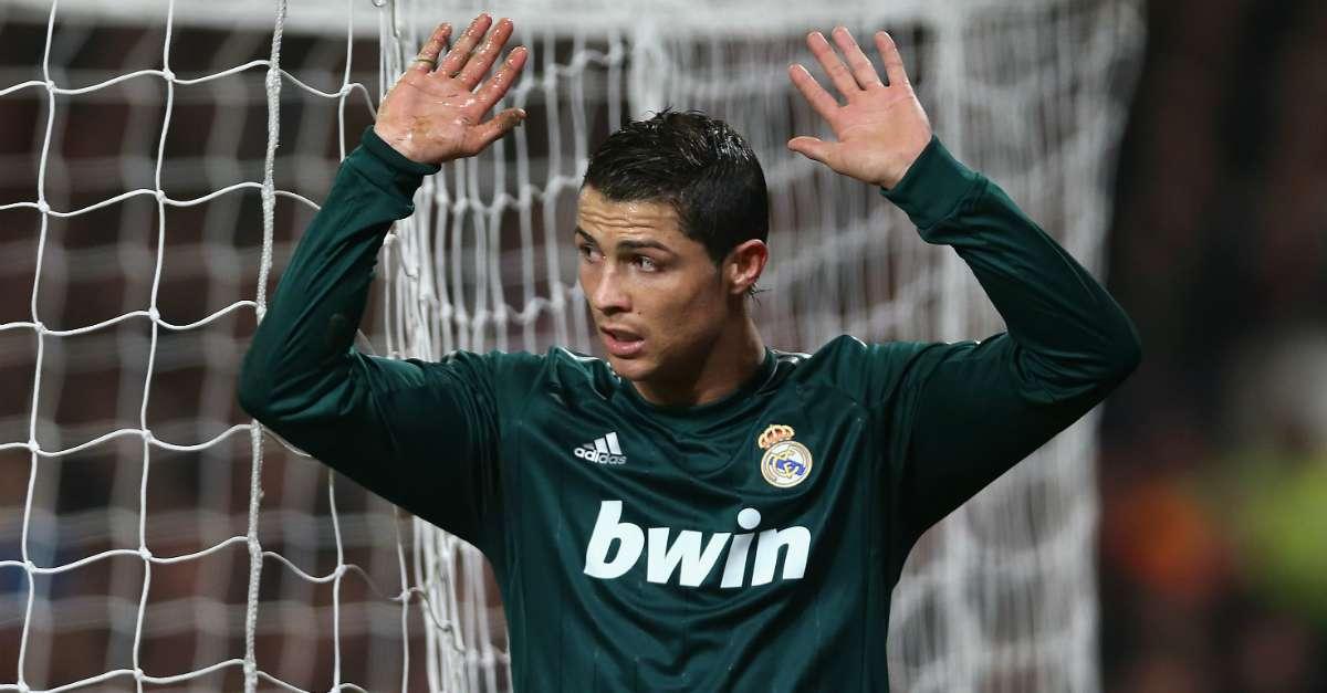 Cristian Ronaldo Manchester United Real Madrid Uefa Champions league 05032013