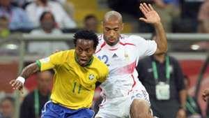 Ze Roberto Brasilien Brazil Thierry Henry Frankreich France WC World Cup WM 2006