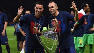 Xavi Andres Iniesta FC Barcelona Champions League Final 06062015