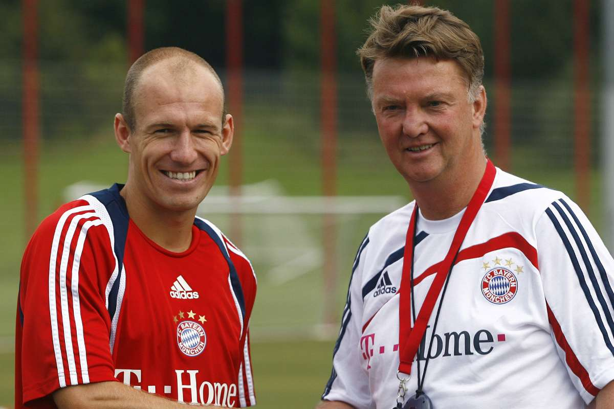 Bayern Munich news: Arjen Robben says Louis van Gaal and Mark van ...