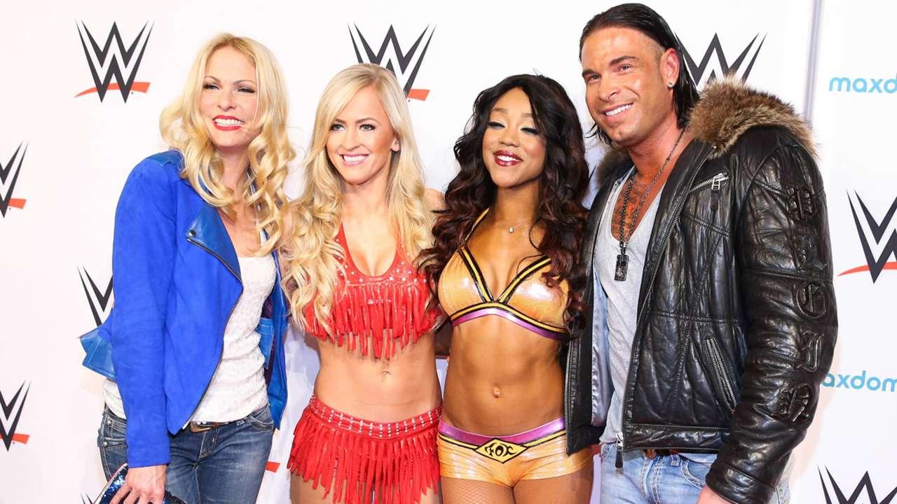 Tim Wiese Sonya Kraus Summer Rae Alicia Fox WWE