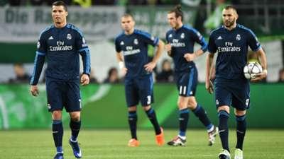 Cristiano Ronaldo Karim Benzema VfL Wolfsburg Real Madrid Champions League 06042016