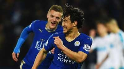 Leicester City Shinji Okazaki Premier League 031416