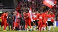 Österreich Austria EM Qualifikation RC Qualification celebratin against Sweden 08092015
