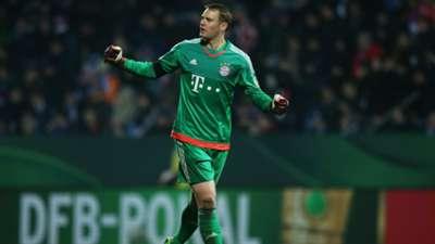 Manuel Neuer VfL Bochum FC Bayern Munchen DFB Pokal 10022016