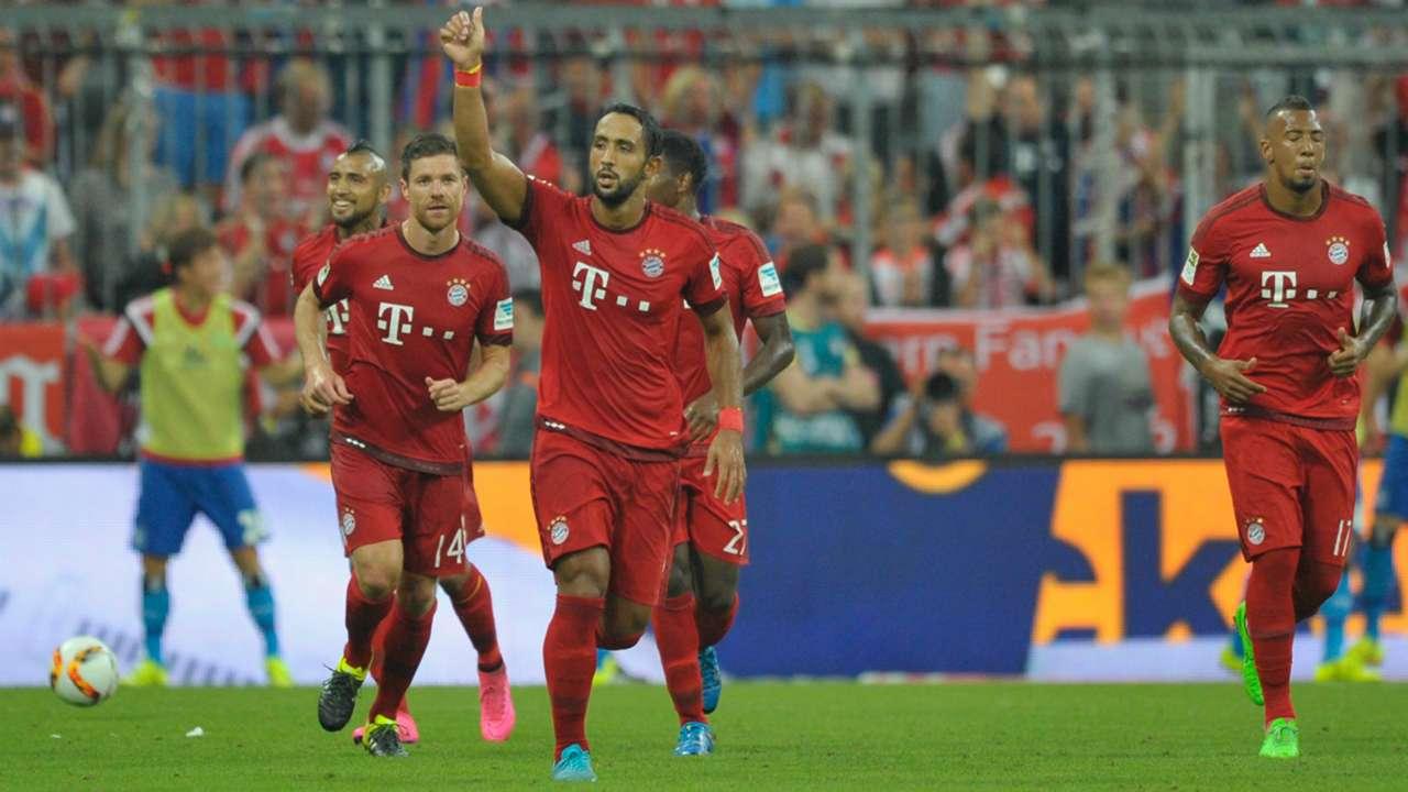 Medhi Benatia FC Bayern Munchen Hamburger SV Bundesliga 14082015