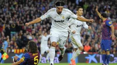 Sami Khedira Real Madrid FC Barcelona 21042012