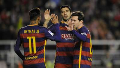 Neymar Luis Suarez Lionel Messi Barcelona MSN