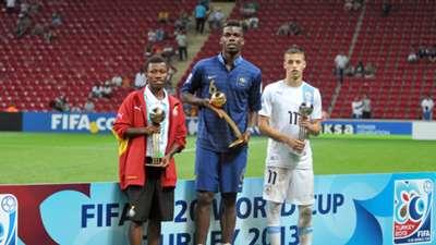 Paul Pogba Frankreich U20-WM 14072013