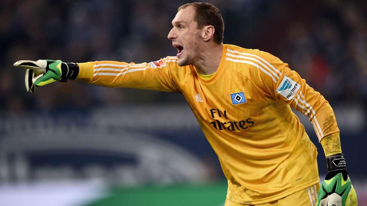 Schalke Hamburg Jaroslav Drobny Bundesliga 12202014