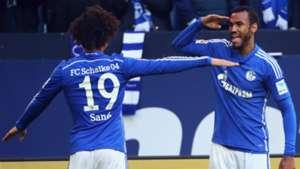 Leroy Sane Choupo-Moting Schalke 04 Bundesliga 04232016
