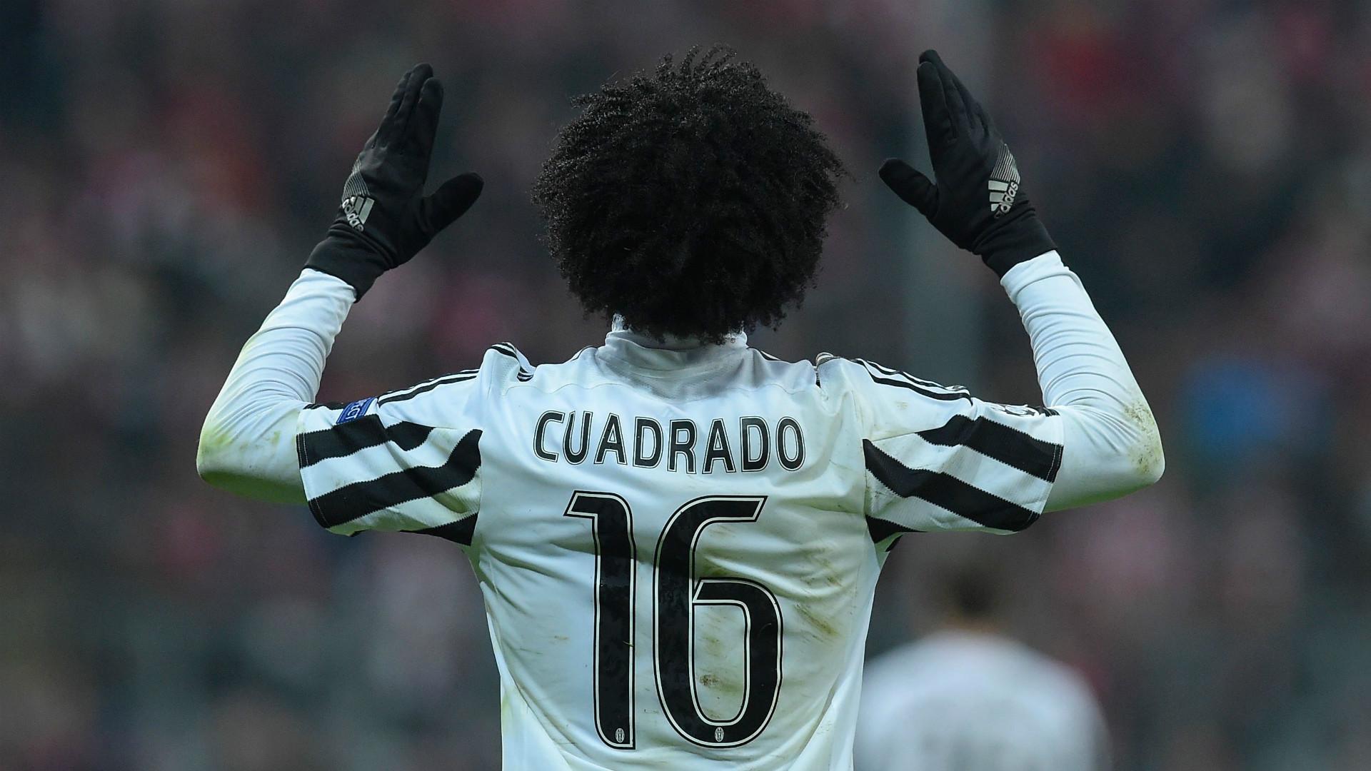 Cuadrado torna alla Juventus, ma cambia numero: dal 16 al 7 | Goal.com