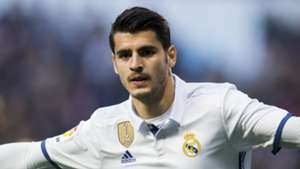 Alvaro Morata Real Madrid 26042017
