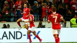 Yunus Malli Yoshi Muto Mainz 05 Bundesliga against Hoffenheim 18092015