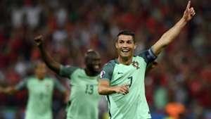 Cristiano Ronaldo Portugal Wales 07062016