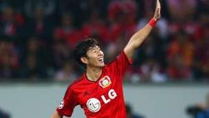 Bayer 04 Leverkusen v SL Benfica - UEFA Champions, Heung Min Son 141001
