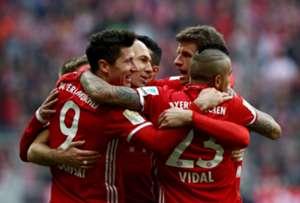 FC Bayern Eintracht Frankfurt 03112017
