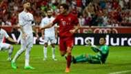 Robert Lewandowski Sergio Ramos Jesus Navas Real Madrid Bayern München Champions League 08052015