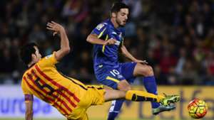 Sergio Busquetes Fc Barcelona FC Getafe Primera Division 31102015