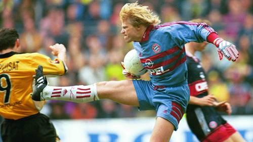 Oliver Kahn Bayern Chapuisat Dortmund 04031999