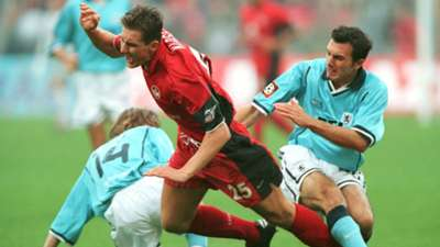 Miroslav Klose 1860 München v Kaiserslautern Bundesliga 14102000