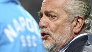 Aurelio de Laurentiis Napoli Serie A 08232015