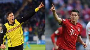 GFX Info Robert Lewandowski Borussia Dortmund Bayern München