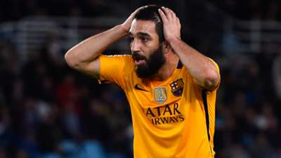 Arda Turan FC Barcelona Real Sociedad 04092016